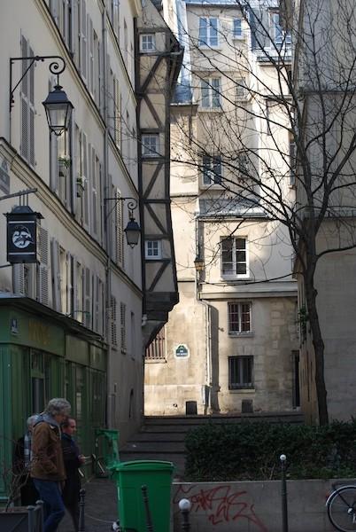 Paris IV: rue Grenier sur L'Eau: 28 January 2008