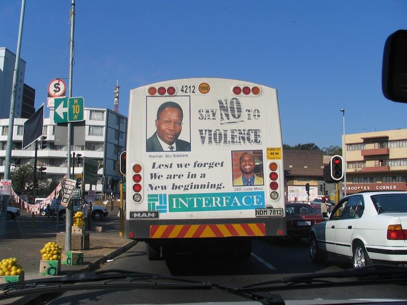 moses kotane road-bus anti-violence poster-IMG_0211-030704